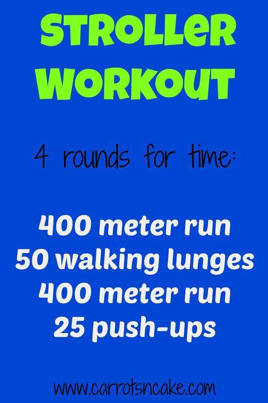 stroller workout: