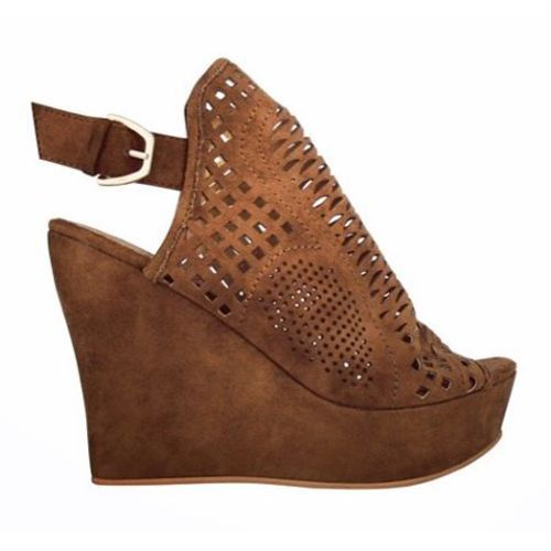 Shoptiques Product: Brown Wedge - main