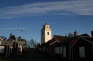 Igreja vila de Gammelstad, Luleå
