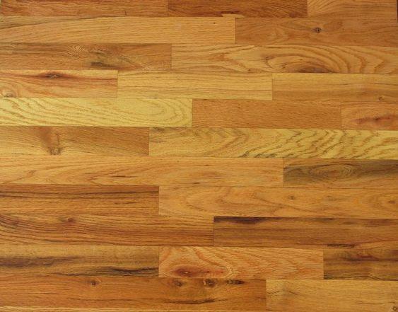 Red oak red oak floors and oak hardwood flooring on pinterest for Oak floor colors