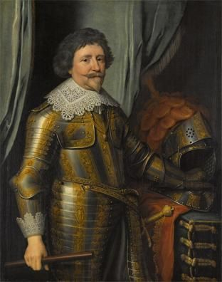 Portrait Of Frederick Henry Prince Of Orange Portret Van