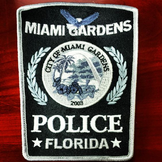 Patches for the miami gardens police department here in sunny florida patches pinterest for Miami gardens police department