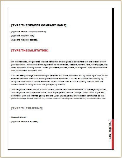 Business Letter Address Change change address templatemple – Business Name Change Letter