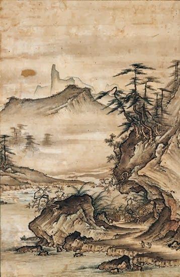 清雅なる情景 日本中世の水墨画 - the Salon of Vertigo