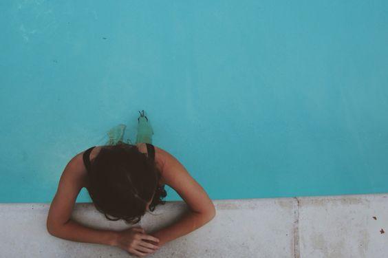swimming. // 7•30•16