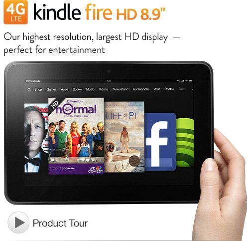 "Kindle Fire HD 8.9"" 4G Tablet - Latest Wireless Technology with 4G LTE. Price dropped. Oh baby, you WILL be MINE!"