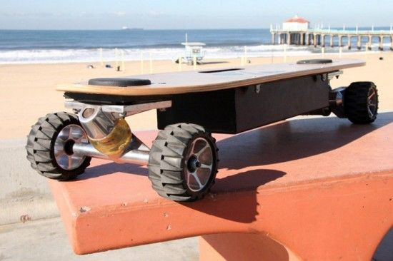 Electric skateboard#