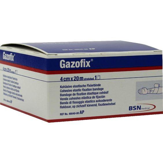 GAZOFIX Fixierbinde 4 cmx20 m hautfarben:   Packungsinhalt: 1 St Binden PZN: 04346089 Hersteller: BSN medical GmbH Preis: 12,47 EUR inkl.…