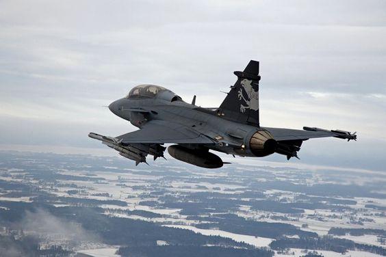 SAAB JAS39 Gripen, two seater