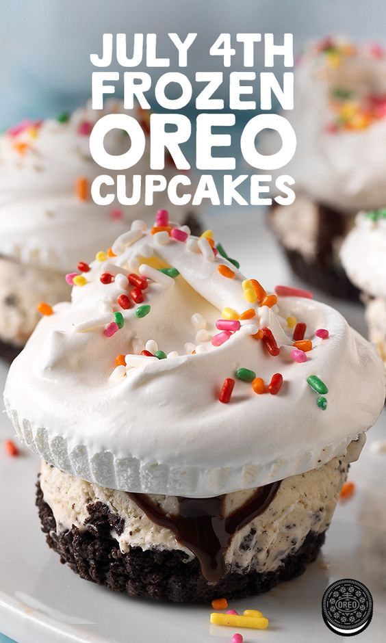 sprinkles cupcakes 4th of july