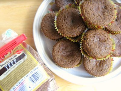 Ginger Lemon Girl: Gluten Free Whole Grain Teff Muffins Recipe