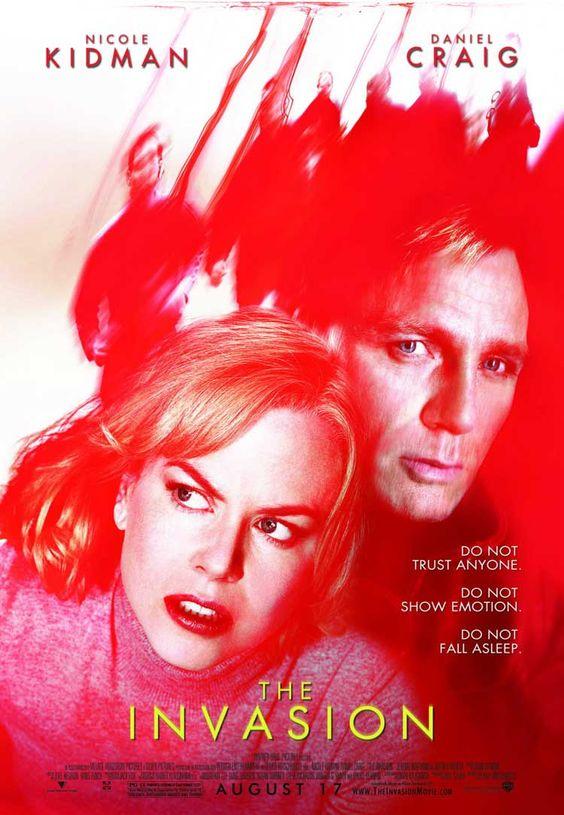 The Invasion (2007) um vírus alienígena infecta humanos... é quase uma história de filmes zumbi mas o final e diferente do clichê dos filmes zumbi.