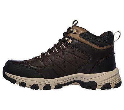 Men's Selmen Telago Mid Top Lace Up Trail Boot   Mens