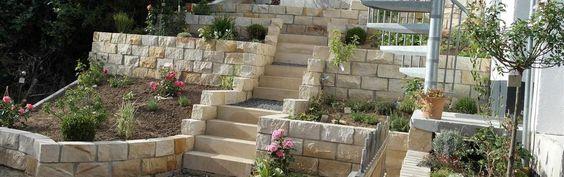 Sandsteinmauersteine gesägt sandsteinmauer Sandsteinpflastersteine, Bruchsteine, Sandsteingartensteine Natursteine