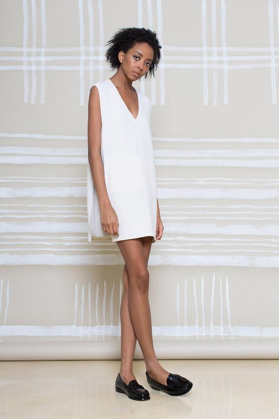 Nice, simplistic dress from M.Patmos PF15 collection