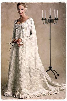 1000 Ideas About Renaissance Wedding Dresses On Pinterest