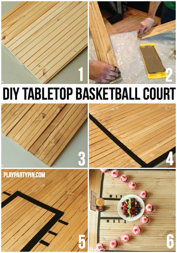 Basketball party basketball court and basketball on pinterest for Diy sport court