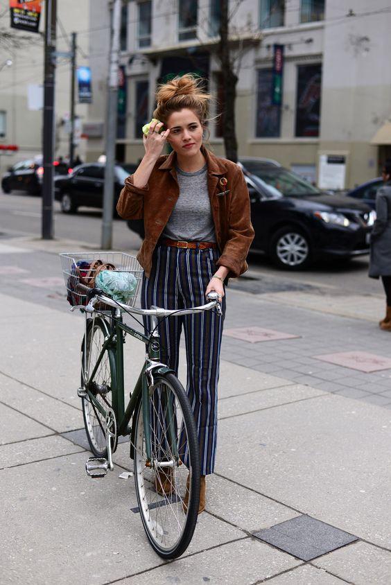 On the scene… Toronto Fashion Week FW16 | Bike: Linus | @linusbike…