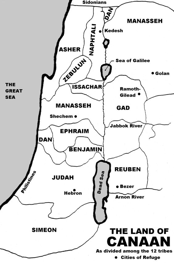 Map of canaan 12 tribes map of the land given to the 12 tribes map of canaan 12 tribes map of the land given to the 12 tribes of israel is the bible just an ordinary book pinterest israel and bible sciox Choice Image