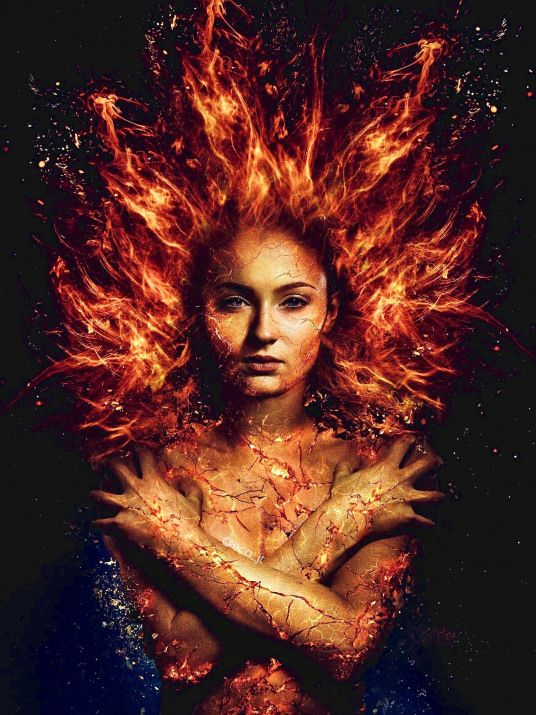Sophie Turner As Jean Grey In X Men Dark Phoenix Xmen X Men Dark Phoenix Jean Grey Phoenix Dark Phoenix Marvel Jean Grey