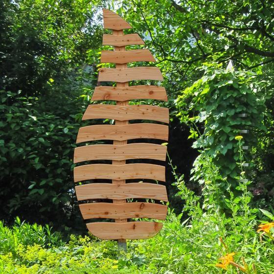 Rankgitter Blatt Sambucus 197x65 Cm Larchenholz Natur Online Kaufen Bei Gartner Potschke Rankgitter Garten Design Garten Und Outdoor