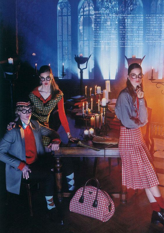 Prada Fall Winter 2013 Editorial
