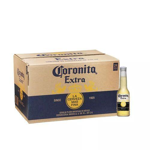Cerveja Coronita 210ml Caixa 24 Unidades Cerveja Emporio Cerveja Caixa