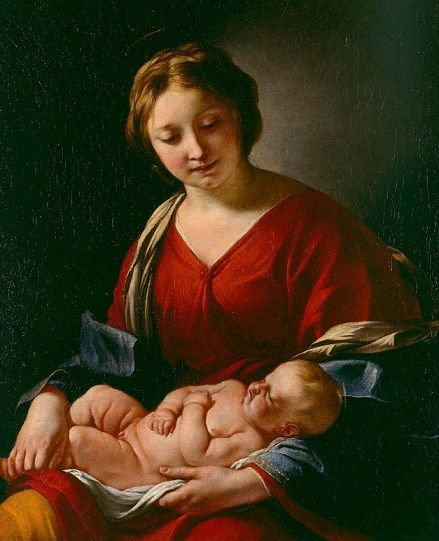 Jacques Blanchard: Virgen y el Niño.