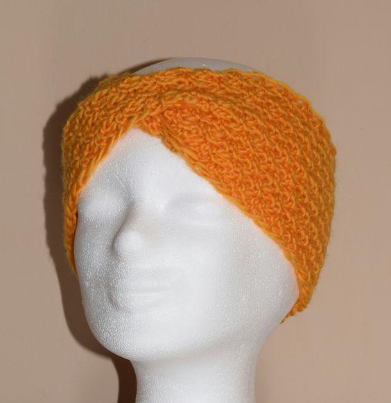 ❤ Hübsches  Stirnband  / knitting hatband  / gestrickt ❤ #knittinghatband #strickstirnband #hatband #stirnband