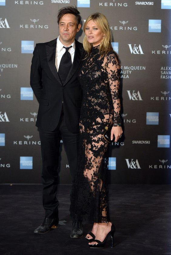 Kate Moss in Alexander McQueen Herbst/Winter 2015