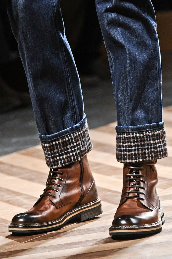 Botines FW12/13 de #ErmenegildoZegna  Guy boots but they're awesome!