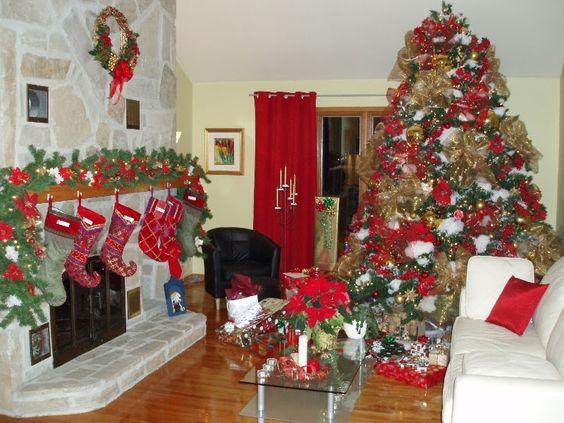 Cómo decorar tu sala para navidad Diseño de Salas | dulces ...