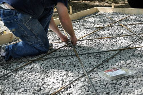 How to Pour a Concrete Shed Foundation