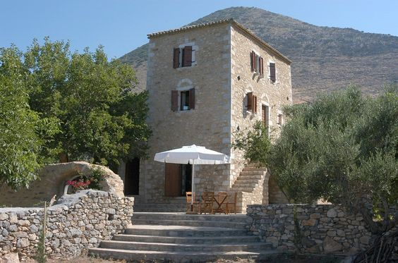 Agios Nikolaos villa rental - main tower building