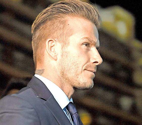 Undercut Hairstyle David Beckham David beckham and other