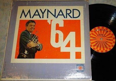 Maynard Ferguson~64~Teddy Reig~LP Vinyl Record Album (Willie Maiden/Mike Abene) LP Vinyl Record Album