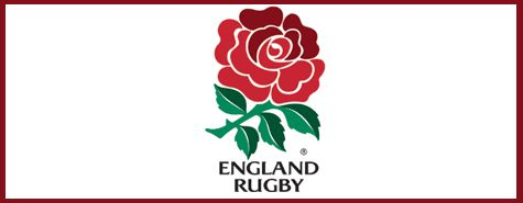 Flag of the English rugby team