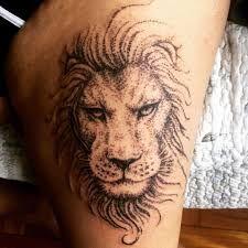 Resultado de imagem para tatuagens de caveiras na coxa