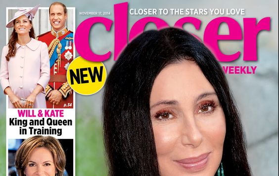 Cher: 'I'm Happy To Be Alive':  [CLOSER MAGAZINE COVER]