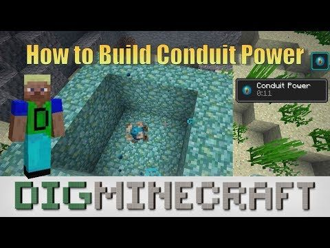 This Minecraft Tutorial Explains How To Build A Conduit Power Structure With Screenshots And Step By Step Instruct Minecraft Tutorial Minecraft Creations Power