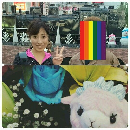 2015.11.23.CDリリースの発表記念山手線1周ウォーキングキャス。田中絢梨さん
