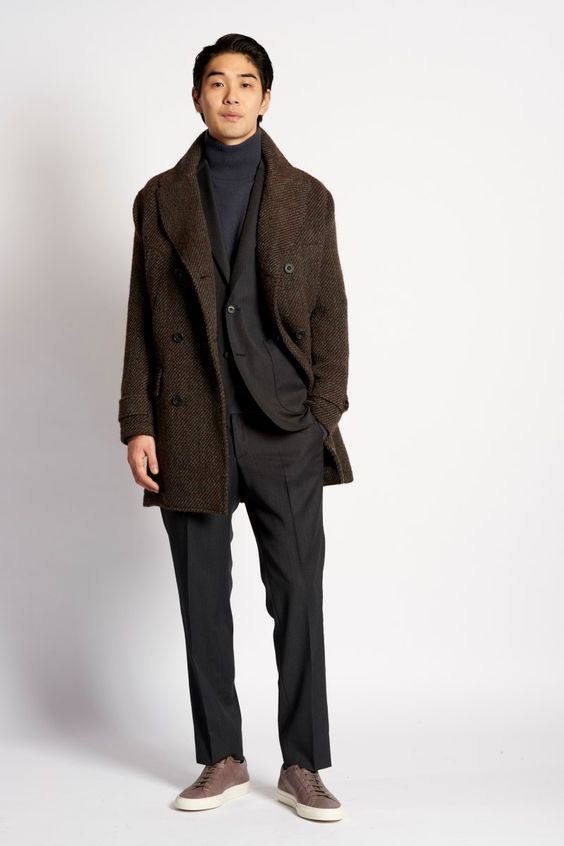 Hardy Amies – Automne/Hiver 2016 – London Collections: Men - ESSENTIAL HOMME