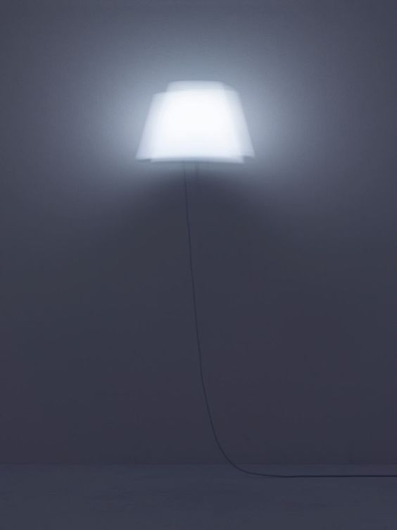 FLOAT is a lamp that appears to be floating in the air by YOY