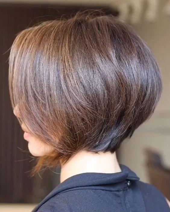 Hairstyle Photo Ways To Style Straightened Hair Not Straight Hair Choppy Bob Hairstyles Short Bob Hairstyles Bob Hairstyles