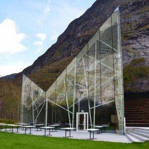 Troll Wall Restaurant by Reiulf Ramstad Architects