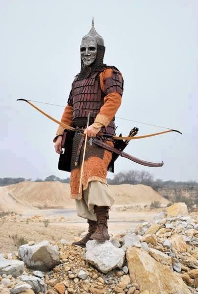 Kuman-Kipchak archer.: