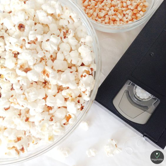 Pipocas Caseiras | Homemade Popcorn -- Visit Site for Recipe --