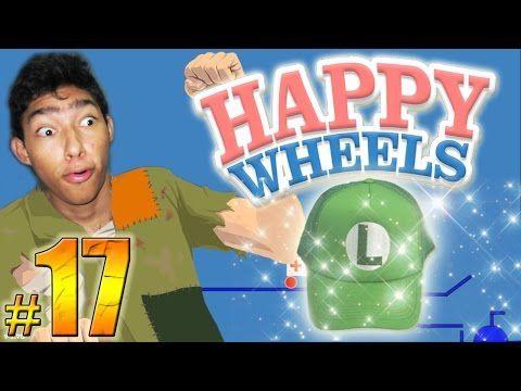 La Gorra De La Suerte Happy Wheels Episodio 17 Fernanfloo Youtube Happy
