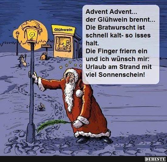 Lustige Bilder Advent.Advent Advent Der Gluhwein Brennt Lustige Bilder