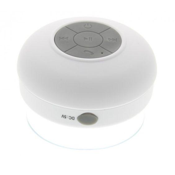 Waterdichte bluetooth badkamer speaker wit - Tablet-Supplies.nl ...